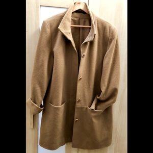Jackets & Blazers - Beautiful Tan Wool Peacoat